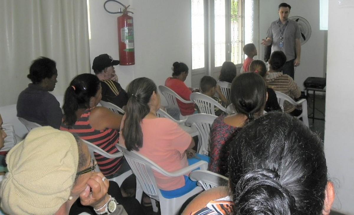 Empreendedorismo é tema de palestra no CRAS do Vera Cruz