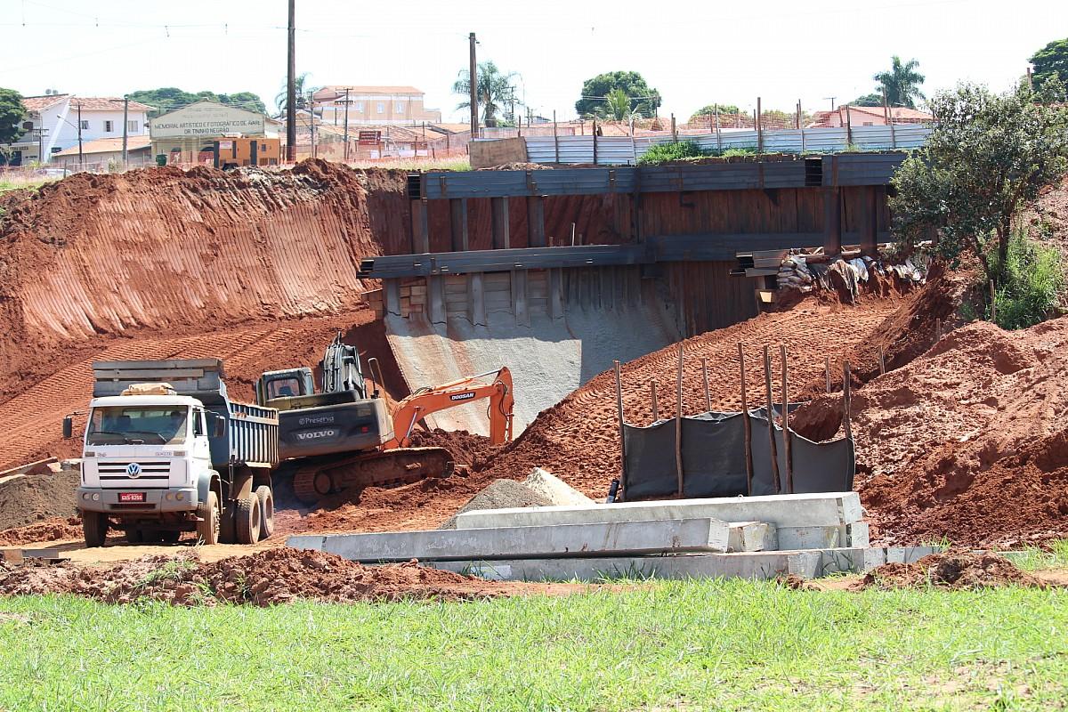 Obras do Túnel Alagoas estão em ritmo acelerado