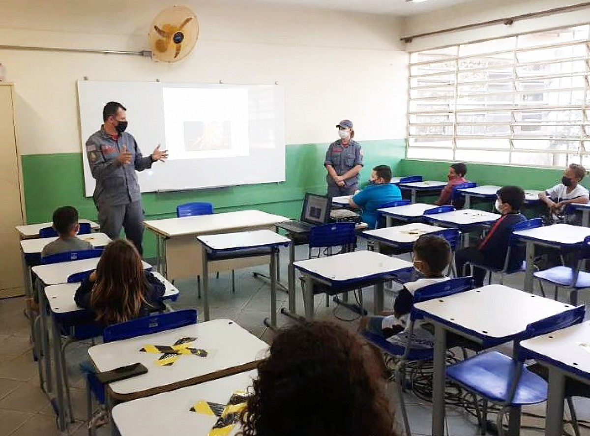 Prevenção a queimadas é tema de projeto desenvolvido em escolas municipais
