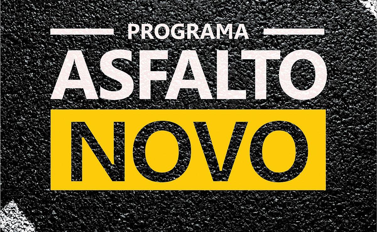 """Prefeitura deve lançar o programa """"Asfalto Novo"""""""