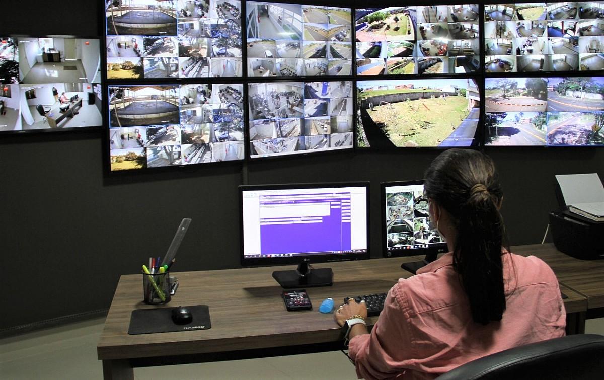 Centro de Avaré ganha monitoramento 24 horas por dia