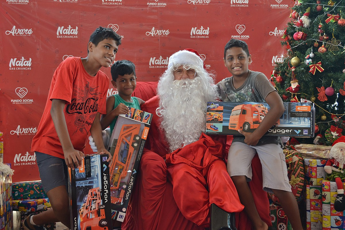 Natal das Crianças: plantão de cadastramento acontece neste sábado, 9