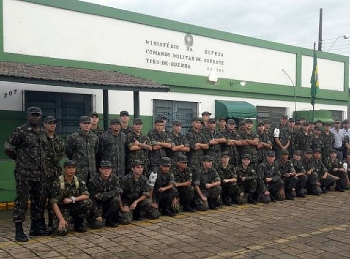 Chefe de Circunscrição Militar visita Tiro de Guerra nesta quarta