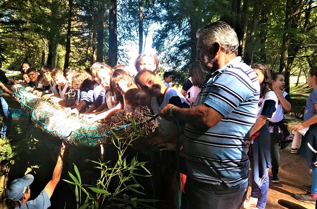 Instaladas as primeiras ecobarreiras no Horto Florestal