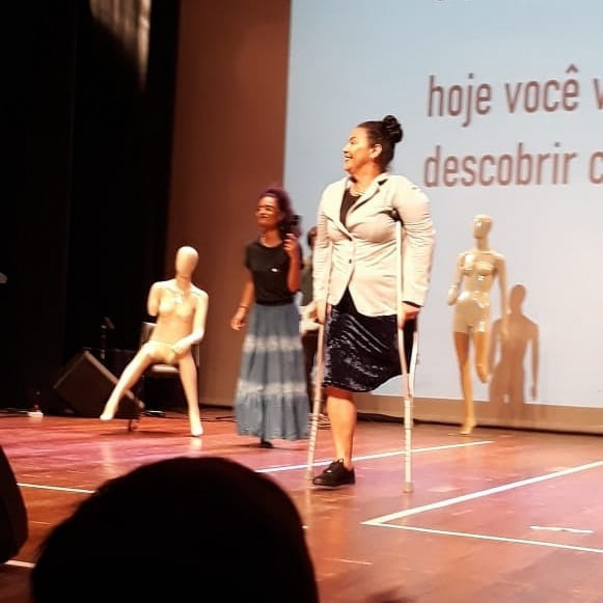 Avareenses participam de Desfile de Moda Inclusiva em Bauru