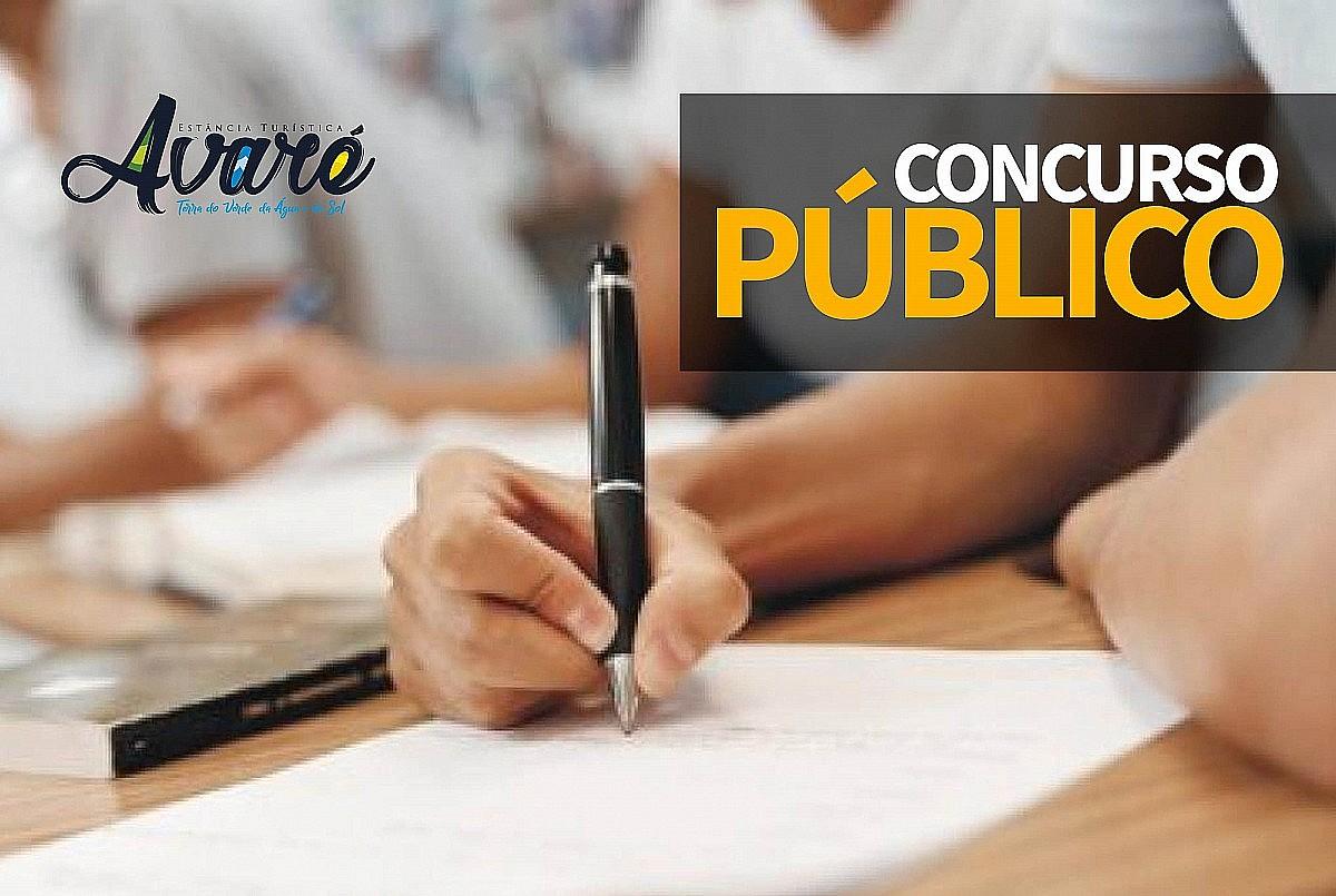 Prefeitura de Avaré abre novo concurso público