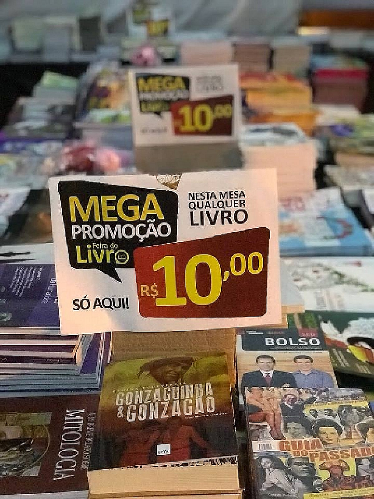 Com títulos a partir de R$ 10, Feira do Livro começa no dia 9