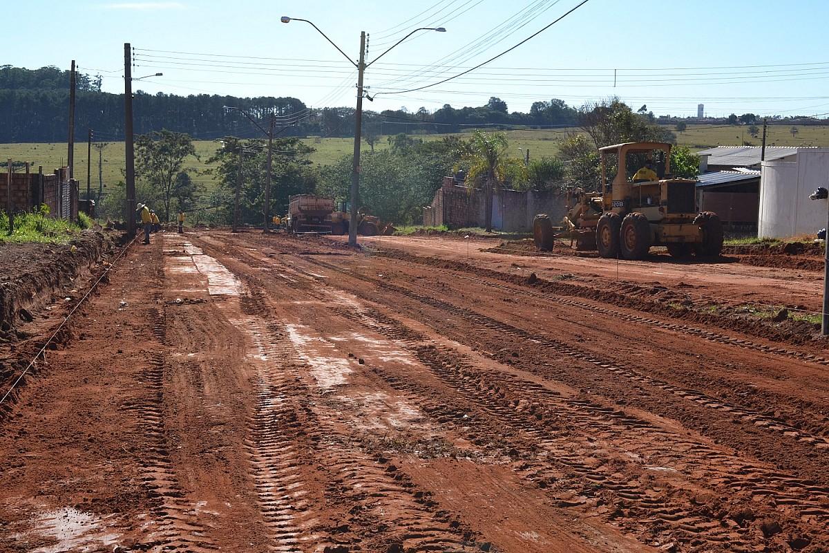 Pavimentação vai ampliar acesso a ruas centrais do Paraíso