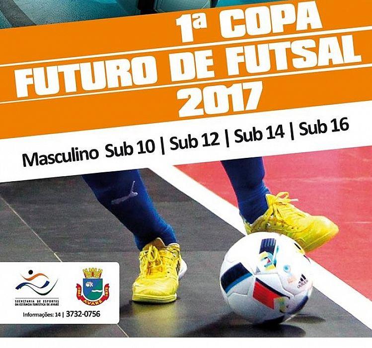 Programação da 4ª rodada da Copa Futuro de Futsal