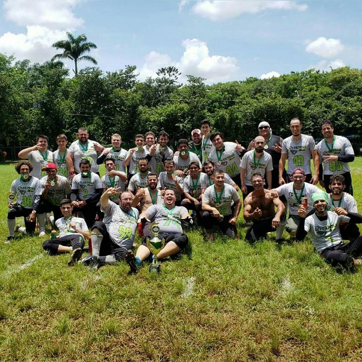 Avaré Scorpions vai à final do Paulista de Flag Football
