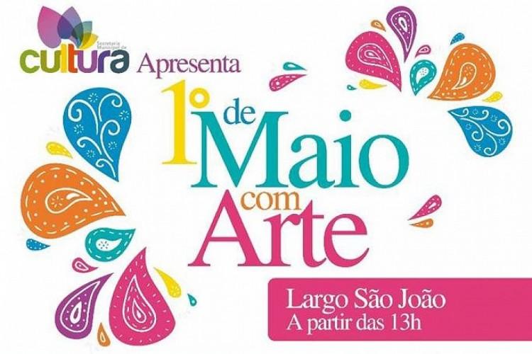"""""""1º de Maio com Arte"""" vai agitar o Largo São João"""