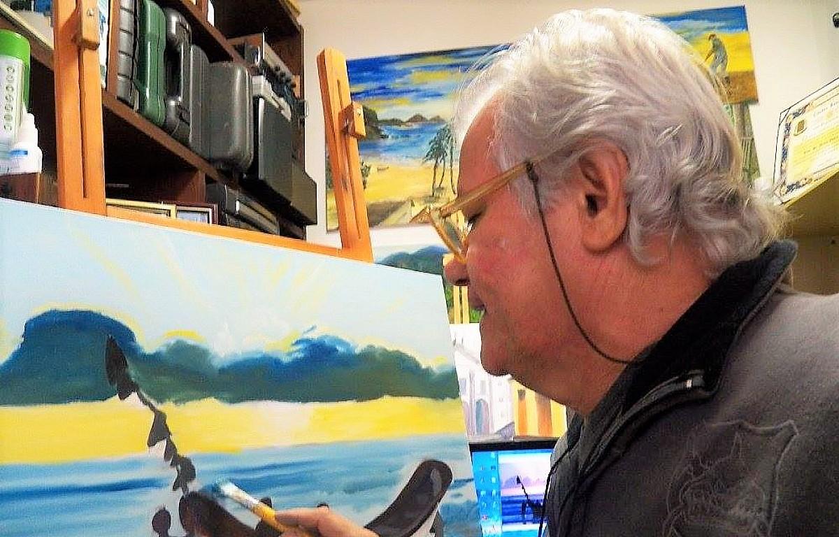 Airton Vieira é o convidado do 24º do Chá dos Artistas