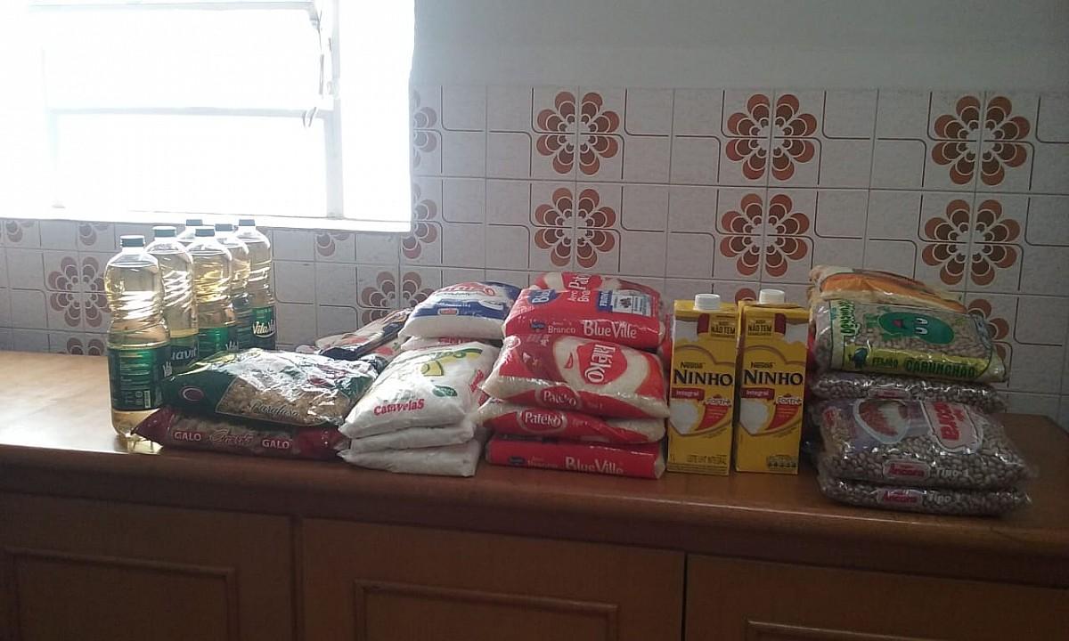 Fundo Social recebe doação do Corpo de Bombeiros