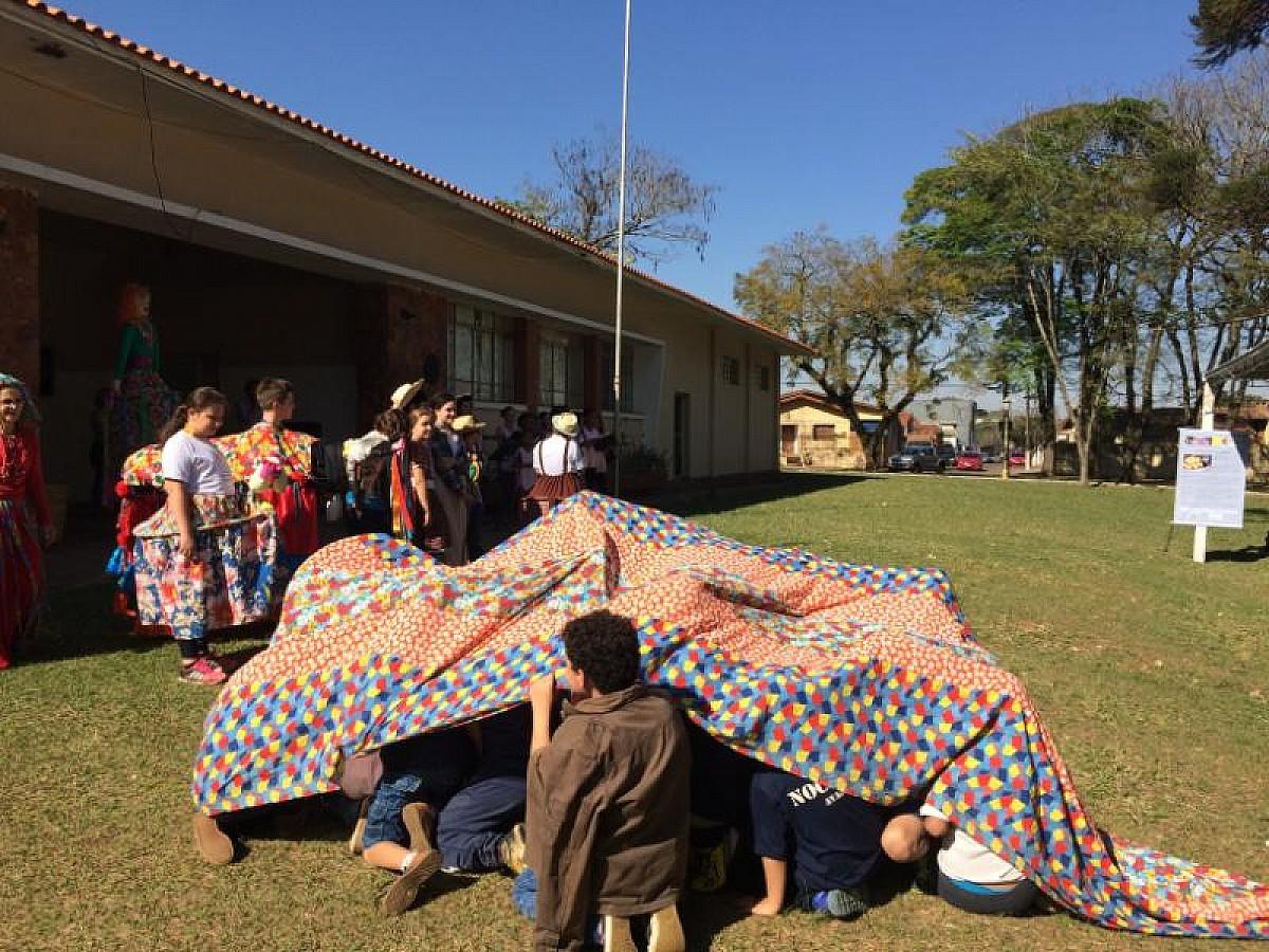 Quinzena do Folclore leva histórias e atividades lúdicas ao bosque do CAIC