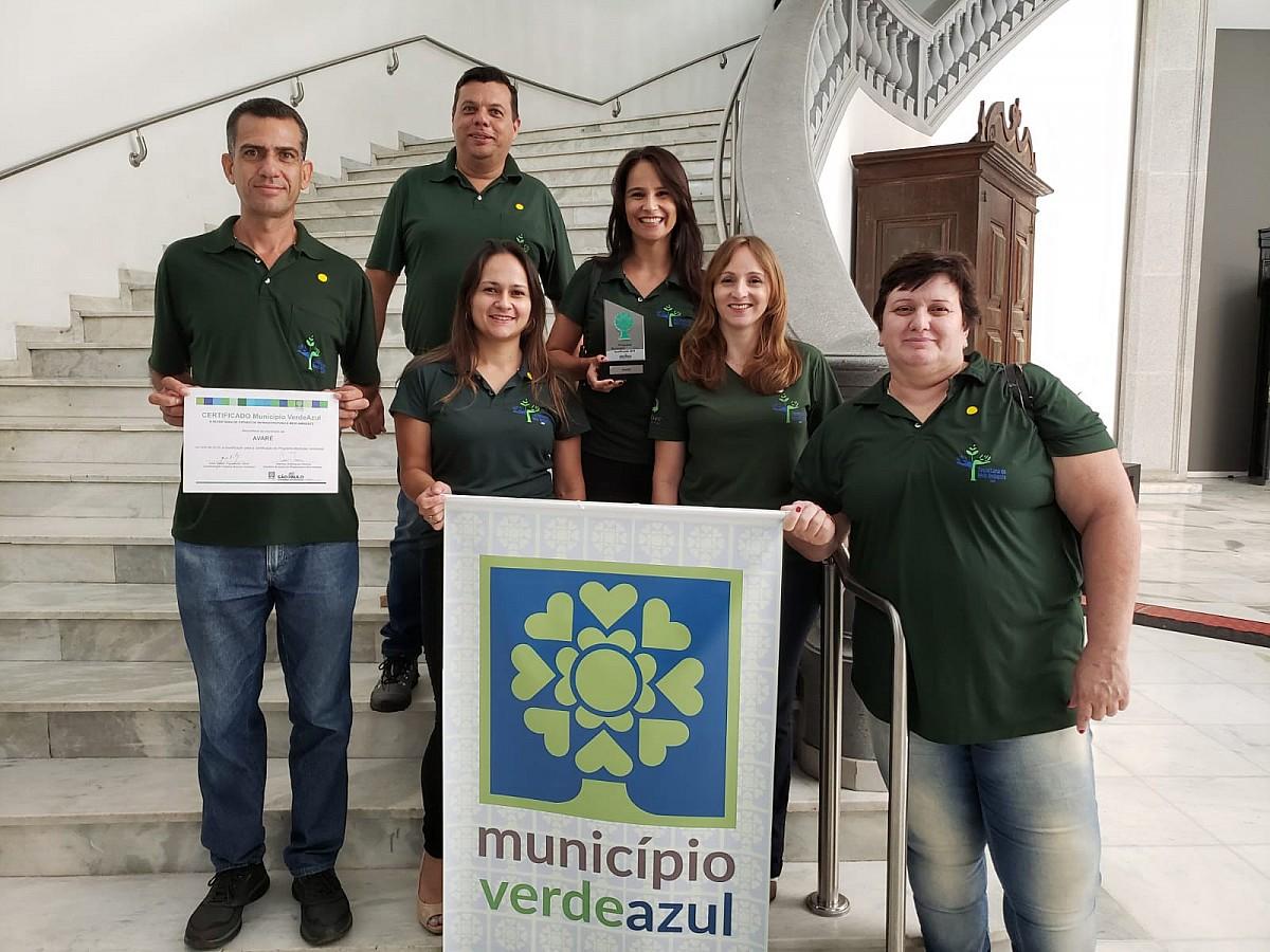 Avaré recebe certificado em programa estadual de gestão ambiental
