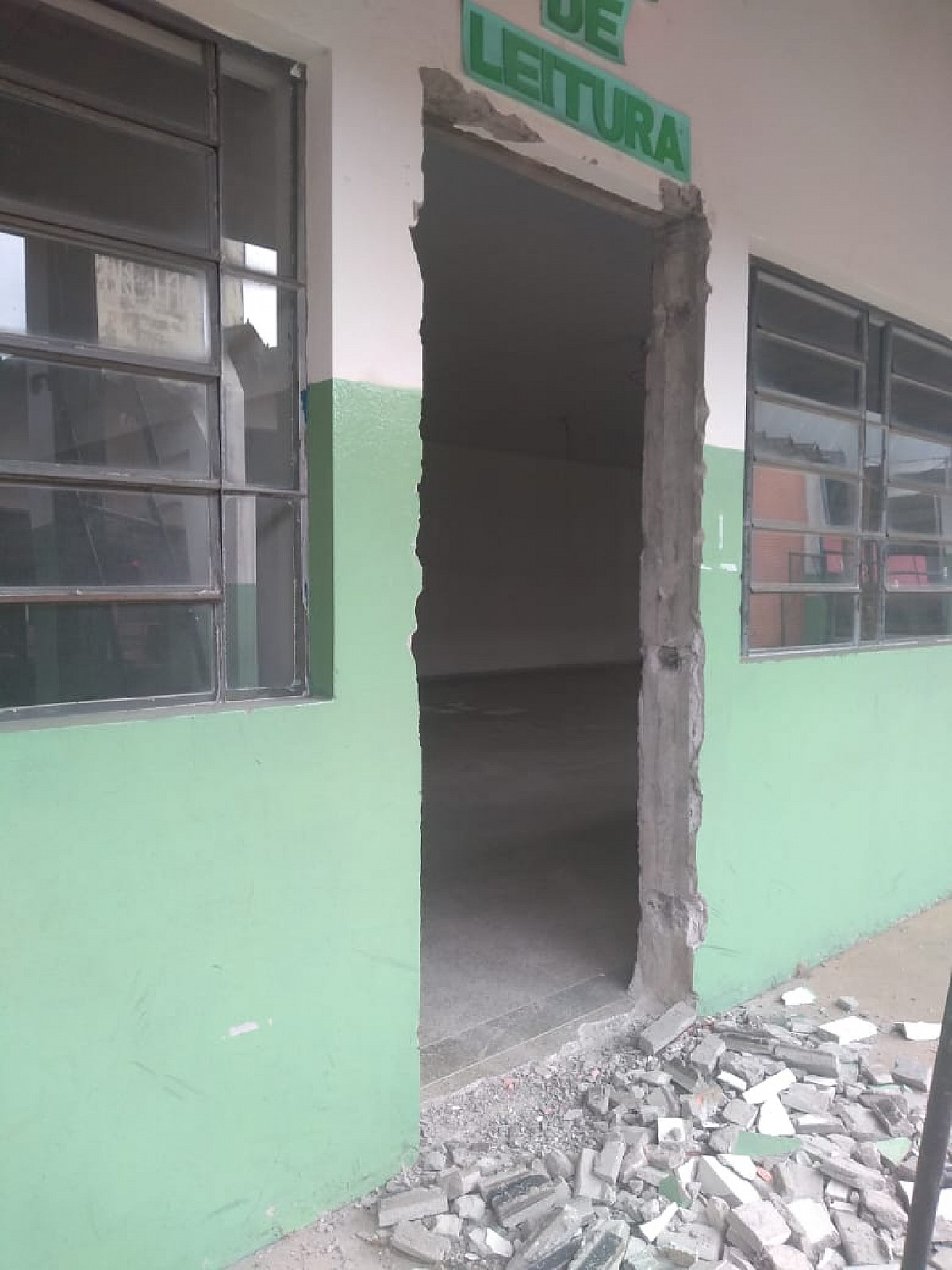 "Prefeitura inicia reforma da Escola ""Salim Antônio Curiati"""