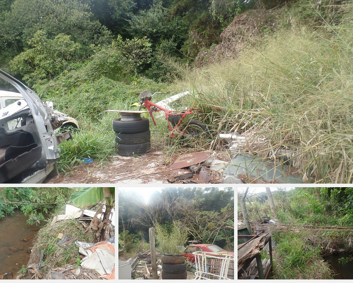 Prefeitura limpa e fiscaliza área de preservação do Lajeado