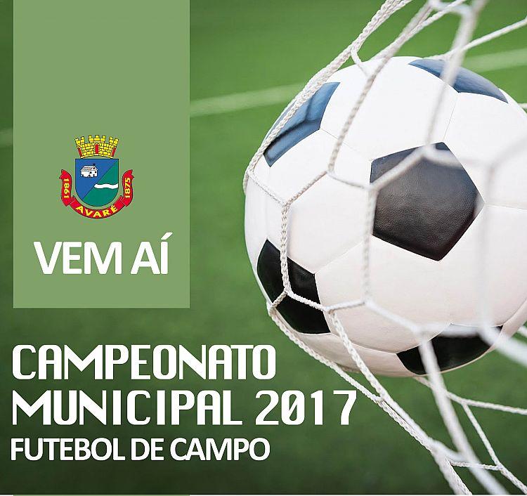Campeonato Municipal começará no dia 24