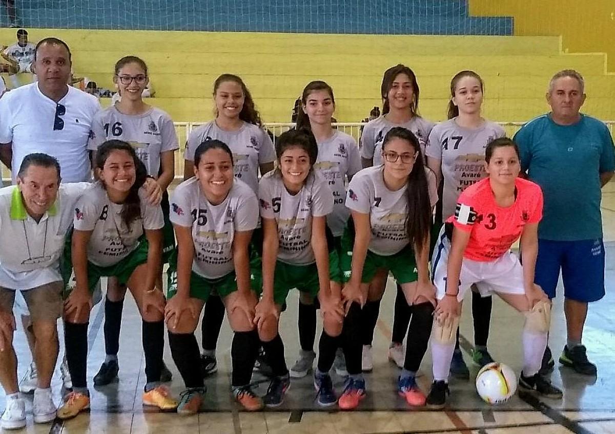 Futsal feminino se classifica nos Jogos Abertos da Juventude
