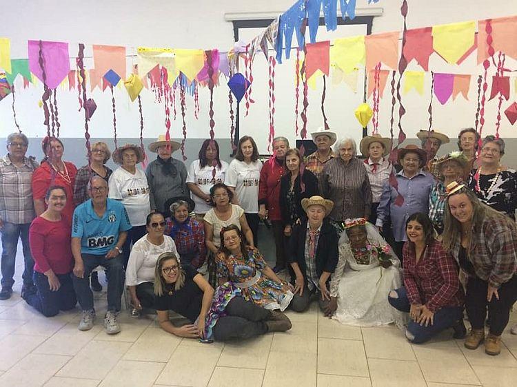 Festa Junina no Caps é realizado com sucesso