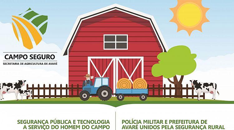 SEGURANÇA NO CAMPO: POLÍCIA MILITAR E SECRETARIA DE AGRICULTURA SE UNEM PARA LEVAR MAIS SEGURANÇA A ZONA RURAL.