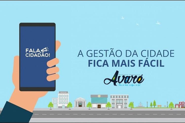 """Prefeitura de Avaré lança o aplicativo """"Fala, Cidadão"""""""