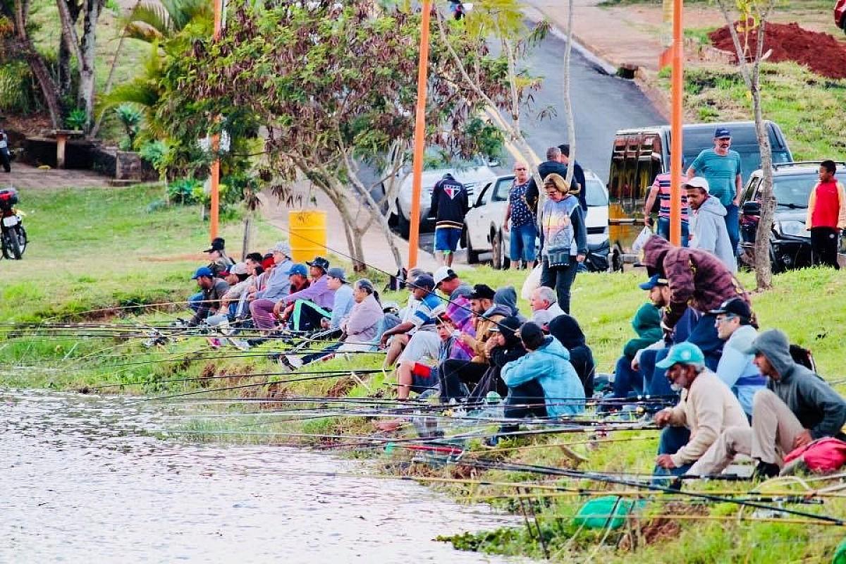 Fim de semana tem 3ª Pescaria no Lago da Brabância
