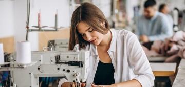 Curso gratuito de costureiro de máquina industrial está com inscrições abertas