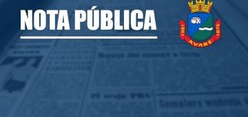 Após consulta, Ministério Público recomenda que Prefeitura mantenha medidas adotadas em Avaré