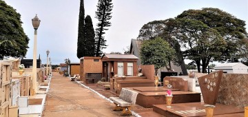 Prazo para recadastramento de túmulos termina na terça-feira, 24