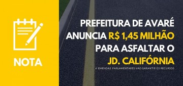 Prefeitura direciona R$1.450.000,00