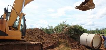 Prefeitura inicia obras de drenagem no Jardim Paineiras