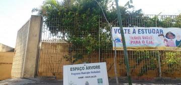 Escolas municipais recebem programa de arborização urbana