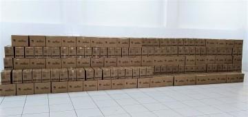 Sabesp e órgão assistencial estadual doam 1600 cestas básicas para o Fundo Social