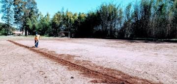 SEME faz melhorias no campinho do Santa Elisa