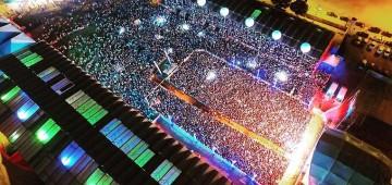 Shows de alto nível e grande público marcam a Emapa