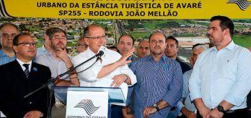 Em Avaré, Alckmin entrega duas importantes obras para cidade