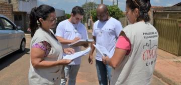 Programa estadual conclui cadastramento de imóveis na Vila Esperança