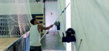 """Secretaria dá início à revitalização do Ginásio """"Tico do Manolo"""""""