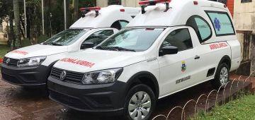 Saúde recebe mais duas novas ambulâncias