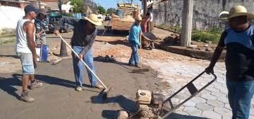 Prefeitura investe na recuperação de trechos e vias