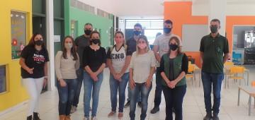 Universitários visitam prédio municipal referência em sustentabilidade
