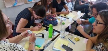 Professores participam de oficinas de capacitação