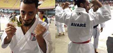 André Cavalcante é campeão brasileiro de karatê
