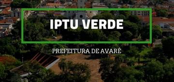 Secretaria do Meio Ambiente informa sobre o IPTU Verde
