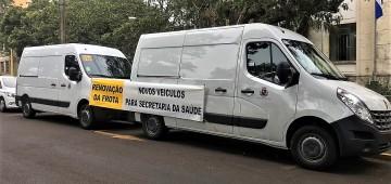 Renovação da frota: Saúde recebe novas vans