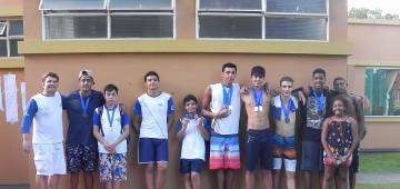 Equipe avareense de natação tem fim de semana vitorioso
