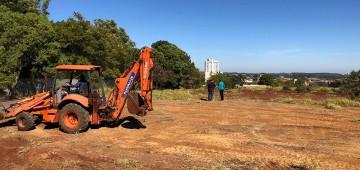 Município inicia construção de escola no Bairro Alto