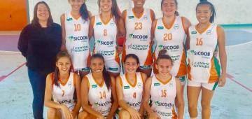 Basquete feminino vai à final dos Jogos da Juventude