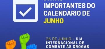 Semads lembra datas importantes do mês de junho